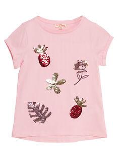 Clear pink T-shirt JADUTI1 / 20S901O1TMC321
