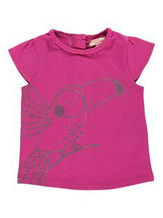 Baby girls' short-sleeved T-shirt CIJOTI10 / 18SG09S4TMC304