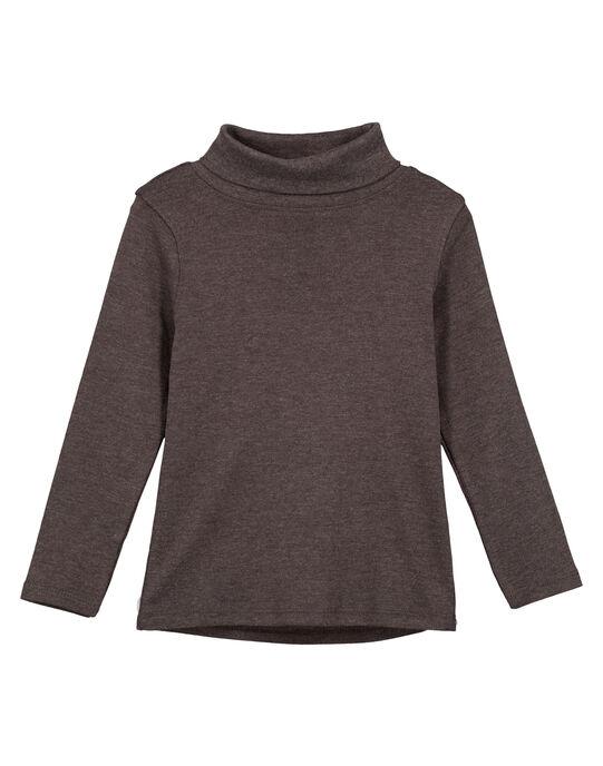 Dark grey under-sweater GOESSOU4 / 19W902U1D3B944