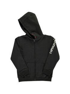 Boys' zipped hoodie DOJOGIMOL1 / 18W90231D28090