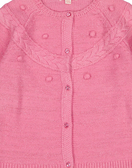 Pink Cardigan GABLACAR1 / 19W901S2CARD330