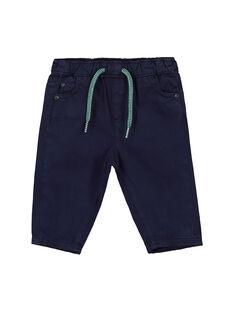 Baby boys' elasticated waist trousers FUJOPAN4 / 19SG1034PAN713