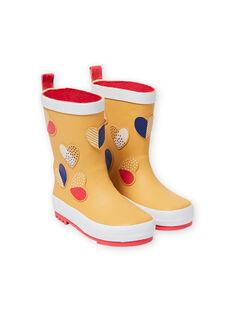 Orange RAIN BOOTS MAPLUICOEUR / 21XK3511D0C400
