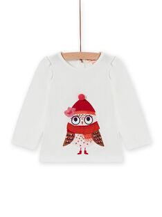 Baby Girl Long Sleeve Owl T-Shirt MIFUNTEE / 21WG09M1TML001