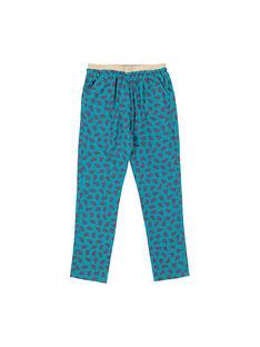 Multicolor pants FACAPANT / 19S901D1PAN099