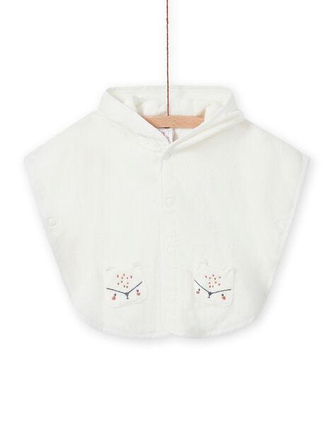 Hooded bath cape fox design mixed birth MOU1CAP / 21WF4241POI001