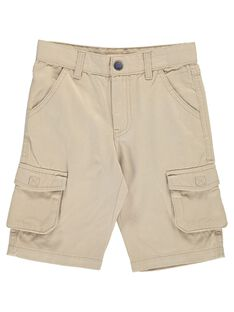 Boys' shorts with a key-ring COBUBER5 / 18S902K5BER808