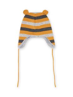 Baby boy striped knit hat MYUGROBON2 / 21WI1061BONJ920