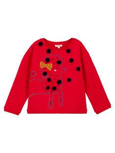 Red Sweat Shirt GASANSWEA / 19W901C1SWE050