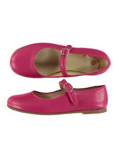 Girls' smart leather Mary-Janes FFBABBRIDE2 / 19SK35C4D13304