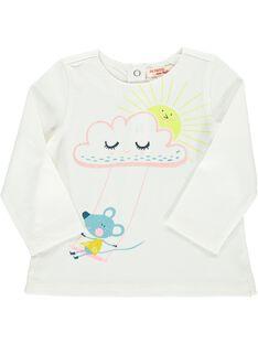 Baby girls' long-sleeved T-shirt DIVETEE2 / 18WG0972TML001