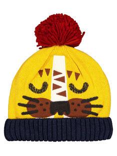 Boys' pompom hat GYOMUBON / 19WI02F1BONB116