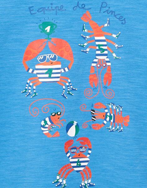 Blue T-shirt JOCEATI3 / 20S902N6TMC201