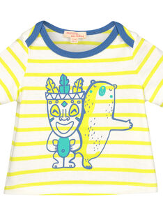 Baby boys' short-sleeved T-shirt FUCUTI3 / 19SG10N3TMC099