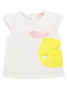 Baby girls' fancy T-shirt FIJOTI8 / 19SG09G3TMC000
