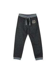 Boys' jogging bottoms FOJOJOB3 / 19S902Y3D2A944