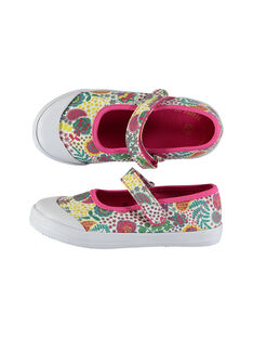 Fushia Salome canvas shoes FFBABCASH / 19SK35C1D17304
