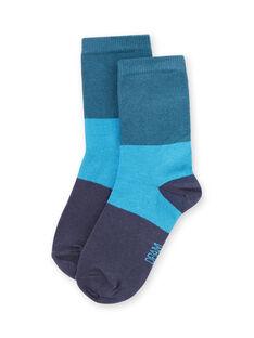 Baby boy blue socks MYOJOCHOC4 / 21WI0216SOQ714
