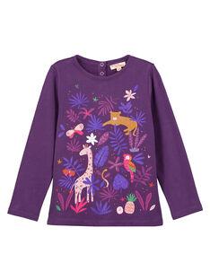 Purple T-shirt GAVIOTEE2 / 19W901R1TML708