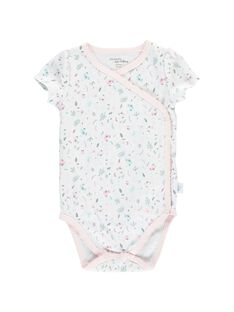 Girls' short-sleeved bodysuit CCFBODAOP2 / 18SF03C2BOD301