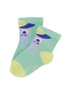 Baby boys' animal socks CYUBUCHO / 18SI10K1SOQ630