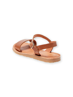 Camel sandals child girl LFSANDLENA / 21KK355DD0E804
