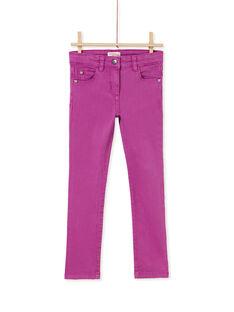 Purple PANTS KAJOPANT2 / 20W90132D2BH704