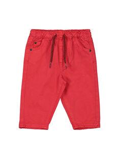 Red pants FUJOPAN1 / 19SG1031PANF505
