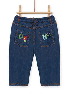 baby boy medium denim jeans MUPLAJEAN / 21WG10O1JEAP274