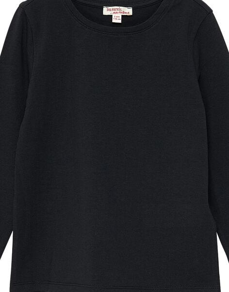 Black Longsleeve T-SHIRT JAESTEE5 / 20S90163D32090