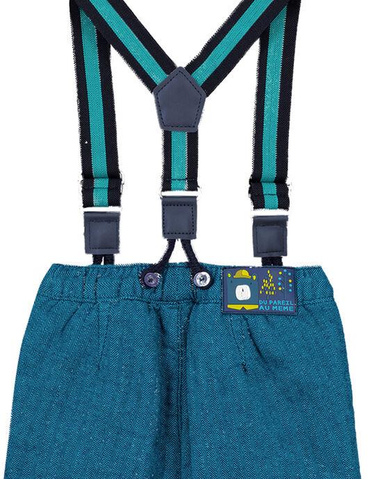 Navy pants GUTUPAN1 / 19WG10Q2PANC203