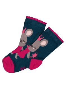 Navy Socks GYITUCHO / 19WI09Q1SOQ714