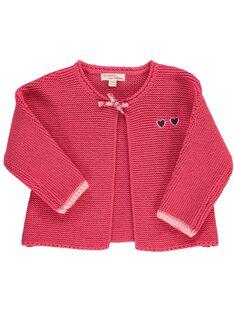 Baby girls' cardigan CIHOCARDI1 / 18SG09E2CARF503
