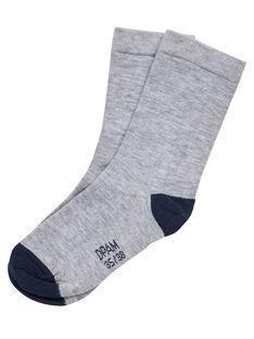 Grey Socks JYOESCHO2 / 20SI0261SOQJ922