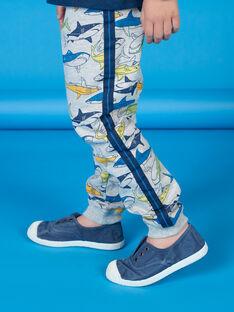 Jogging bottoms grey child Boy LONAUJOG2 / 21S902P1JGBJ922