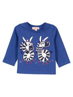 Blue T-shirt GUTRITEE2 / 19WG10J1TMLC221