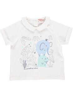 Baby boys' short-sleeved T-shirt CCGTI2 / 18SF04C1TMC000