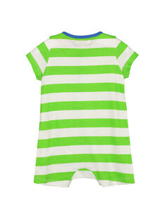 Baby boys' short sleepsuit FUPLACOM2 / 19SG10P2CBL099