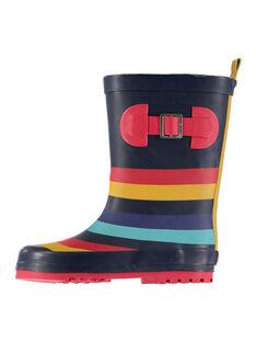 Navy Rain boots FGBPBLOCK / 19SK36X1D0C070