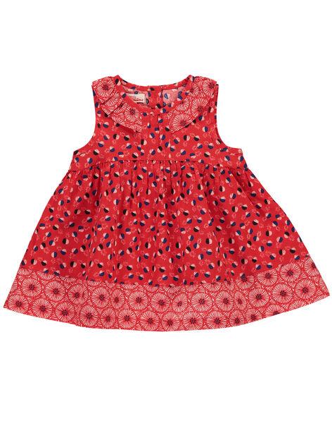 Baby girls' dress FITOROB1 / 19SG09L1ROB330