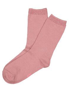 Old rose Socks GYAJOCHO2 / 19WI0142SOQ303