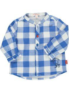 Baby boys' checked shirt CUKLECHEM / 18SG10D1CHM099