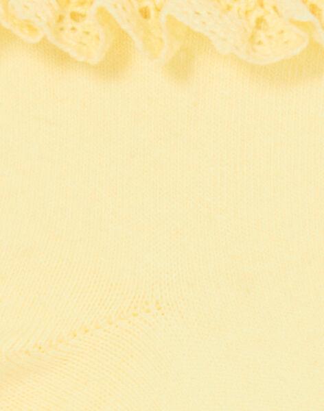 Yellow SOCKS LYAJAUSOCK / 21SI01O1SOQ116
