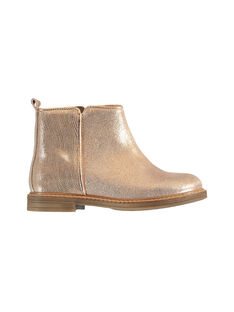 Pink gold BOOTS KFBOOTMEL / 20XK3575D0DK009