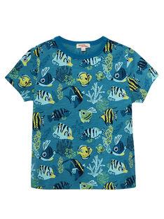 Sunny yellow T-shirt JOBOTI6 / 20S902H5TMC102