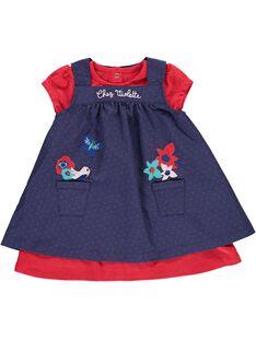 Baby girls' dress set CIDEROB1 / 18SG09F1ROB099