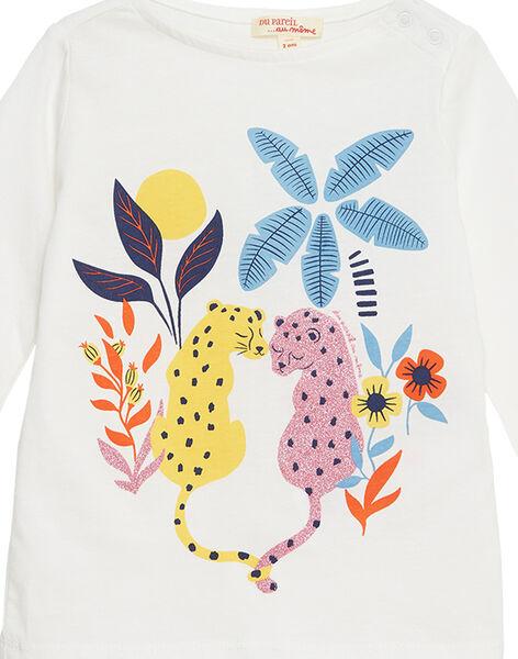 Off white T-shirt JATROTEE1 / 20S901F1TML001