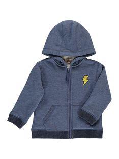 Boys' fake fur lined hoodie DOJOSHER1 / 18W902O1D28222