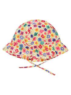Baby girls' floral hat FYICOCHA / 19SI0981CHA099