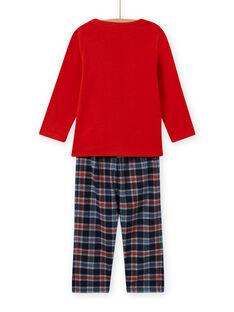 Boy's pyjama set with extraterrestrial motif MEGOPYJSPA / 21WH1284PYJE414